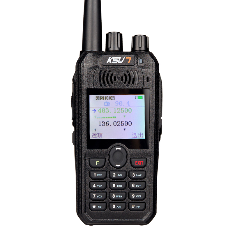 Adapt to the working frequency of each country and regionVHF: 136-174MHz (TX RX) UHF: 400-470MHz (TX RX) FM Radio: